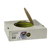 Profile installatiedraad VD 2,5 mm2 geel/groen 100 m