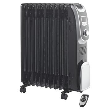 Handson oliegevulde radiator zwart 2300 watt met 11 elementen