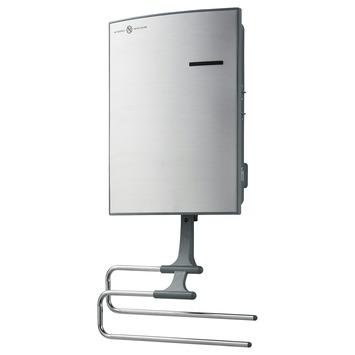 Handson wandverwarmingsunit badkamer 2000 watt met rek