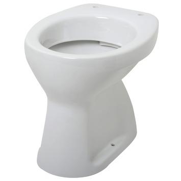 Super Plieger Smart vlakspoel wc pot met onderuitloop wit kopen NC-03