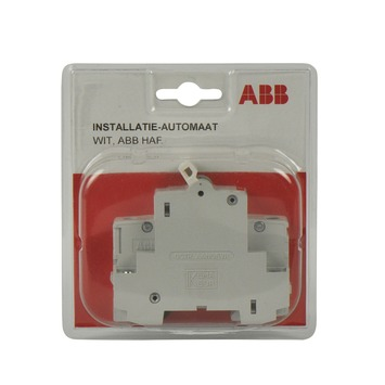 HBB HAF installatie-automaat 16A wit