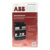 ABB Hafonorm groepenkast 1 x hoofd 2 x aardlek 6 x auto