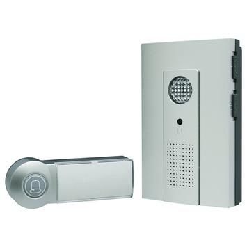 ELRO deurbelset Hollywood DB286A draadloos zilver