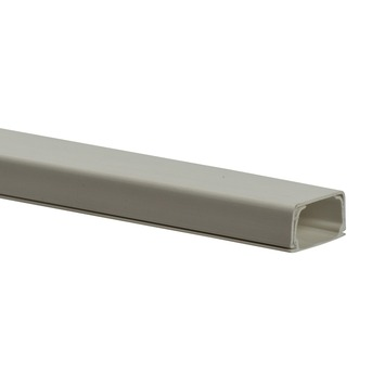 Kabelgoot MK10 kunststof 20x10mm 2 meter wit