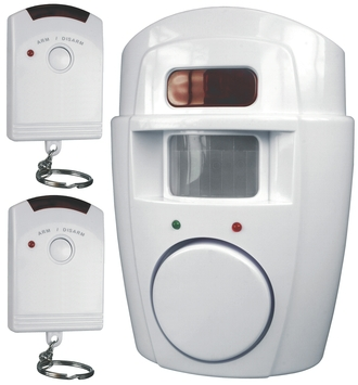 Smartwares Huisalarm met Bewegingsmelder SC09 met 2 Afstandsbedieningen