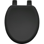 Bemis wc bril Tacoma softclose hout zwart