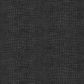 Vliesbehang krokodillenhuid zwart (dessin 32-659)