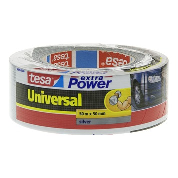 Tesa Universal tape 50mx50mm extra power zilver