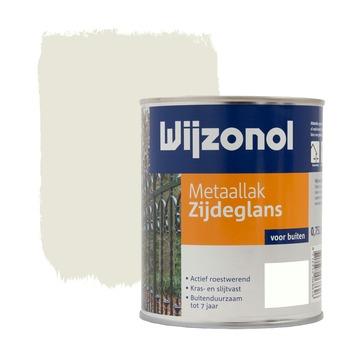 Wijzonol metaallak zijdeglans roomwit 750 ml