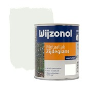 Wijzonol metaallak zijdeglans wit 750 ml