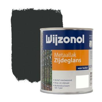 Wijzonol metaallak zijdeglans zwart 750 ml