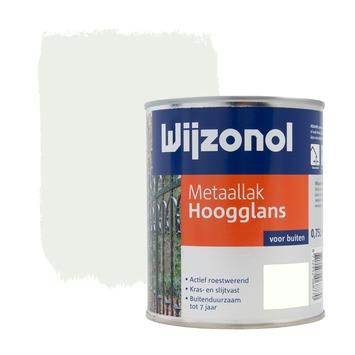 Wijzonol metaallak hoogglans wit 750 ml