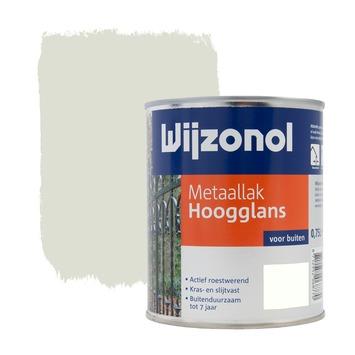Wijzonol metaallak hoogglans cremewit (RAL9001) 750 ml