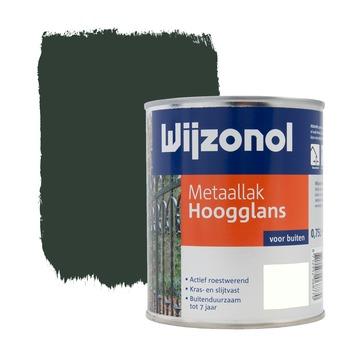 Wijzonol metaallak hoogglans woudgroen 750 ml