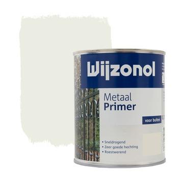 Wijzonol metaalprimer wit 750 ml
