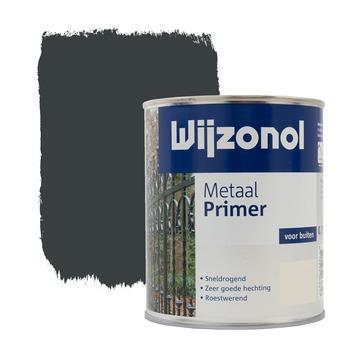 Wijzonol metaal primer blauw grijs 750 ml