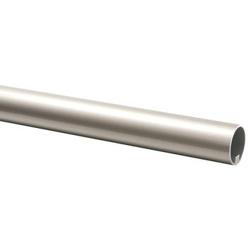 CanDo trapleuning rond Ø 45 mm aluminium met RVS look, lengte 100 cm