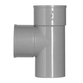 Martens PVC T-stuk 90° 2x Mof 32 x 32 mm