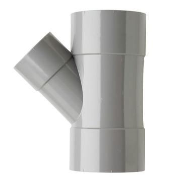 Martens PVC T-stuk 45° 3x Mof 75 x 50 mm