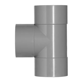 Martens PVC T-stuk 90° 3x Mof 75 x 75 mm