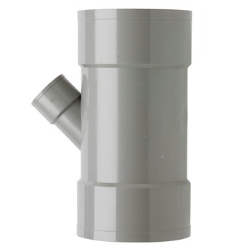Martens PVC T-stuk 45° 3x Mof 110 x 40 mm
