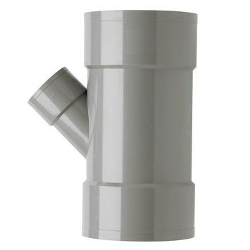 Martens PVC T-stuk 45° 3x Mof 110 x 50 mm