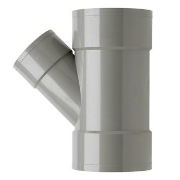 Martens PVC T-stuk 45° 3x Mof 110 x 75 mm