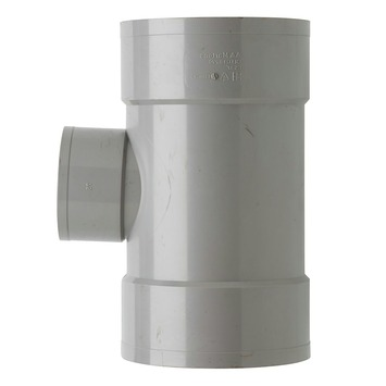 Martens PVC T-stuk 90° 3x Mof 125 x 75 mm