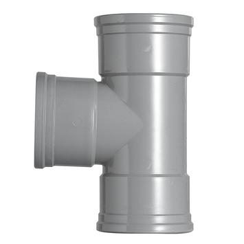 Martens PVC T-stuk 90° 3x manchet 110 mm