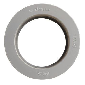 Martens verloopstuk 1x lijmverbinding 70x100 mm