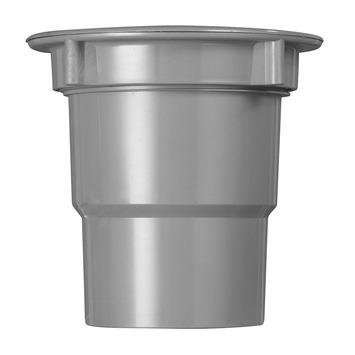 Martens uitloop incl. wartel t.b.v. bakgoot grijs 180 mm