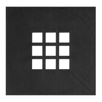 Martens deksel voor vloerput 20 cm kunststof