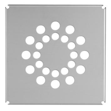 Martens deksel voor vloerput 20 cm RVS