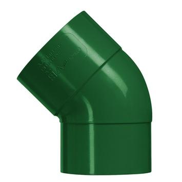 Martens PVC bocht 45° groen mof/verjongd 80 mm