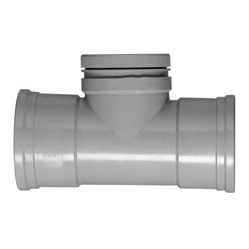 Martens PVC ontstoppingsstuk met schroefdeksel 110 mm