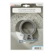 Martens ophangbeugel met pen 60 mm grijs 2 stuks