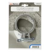 Martens ophangbeugel met pen 80 mm grijs 2 stuks