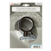 Martens ophangbeugel met pen 60 mm bruin 2 stuks