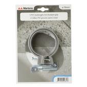 Martens ophangbeugel met pen 70 mm grijs 2 stuks