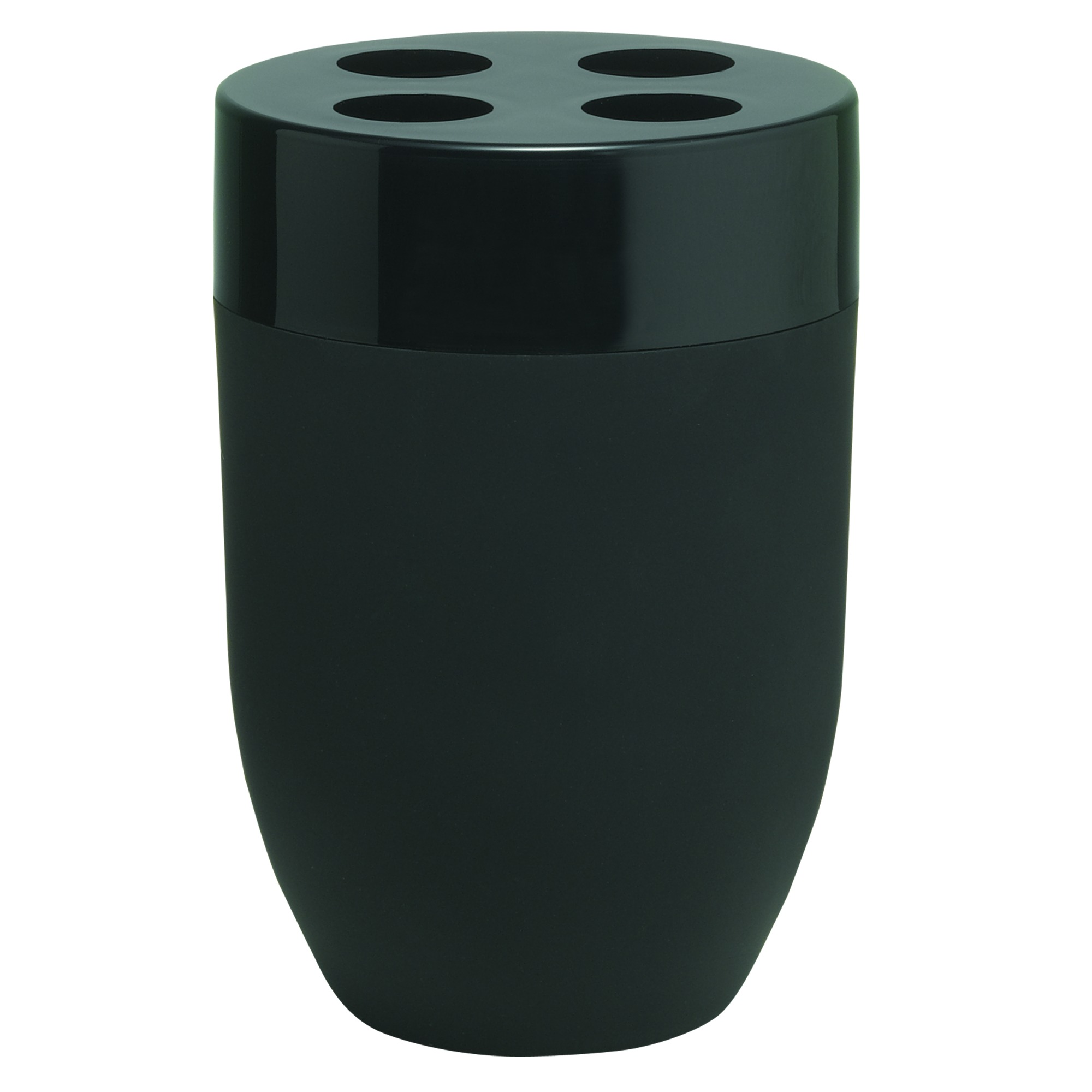 Sealskin Bloom tandenborstelhouder 7,5x11cm keramiek zwart