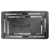 KARWEI Break badmat grijs 60 x 100 cm