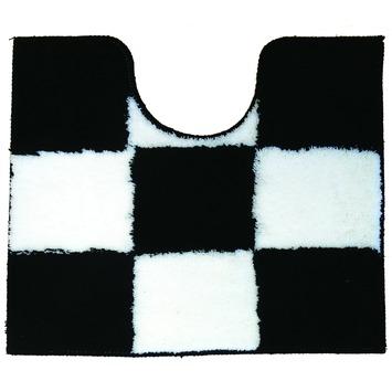 KARWEI Chess wc mat zwart 50 x 60 cm