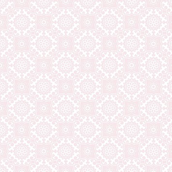 Vliesbehang barok roze (dessin 31-363)