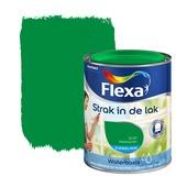 Flexa Strak in de Lak zijdeglans kikkergroen 1037 750 ml watergedragen
