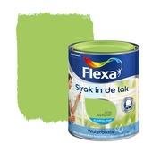 Flexa Strak in de Lak zijdeglans appelgroen 1216 750 ml watergedragen