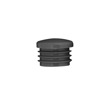 Novidade steigerbuis inslagdop kunststof 27 mm zwart
