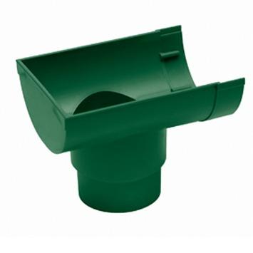 Martens mastgoot einduitloop 100 mm groen