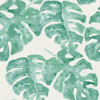 love this wallpaper! design by Eijffinger® vliesbehang blad tropisch groen