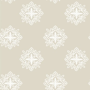 love this wallpaper! design by Eijffinger® vliesbehang stempel zand-wit