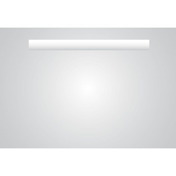 Plieger basic spiegel met verwarming en verlichting - 1 zijde - 60 x 60 cm
